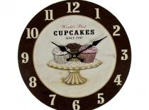 Reloj Pared Cup Cakes