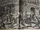 Saturnalium sermonum libri duo, quie de gradiotoribus, editio ultima & castigatissima. Cum aenei