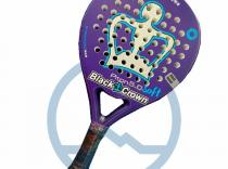 Pala de padel Black Crown Piton 5.0 Soft