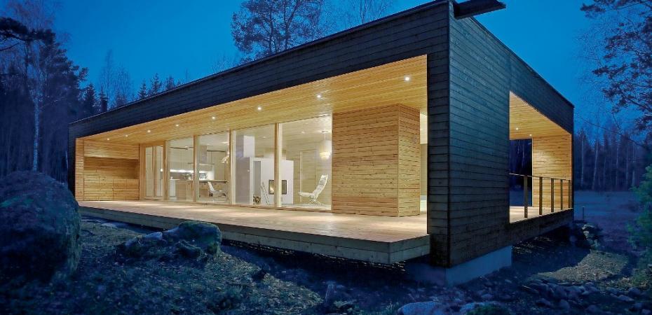 Construcci n madera for Casas de madera modernas