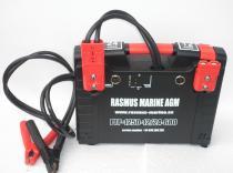 Arrancador baterías de coche y camión 12V y 24V.