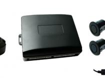 Sistema aparcamiento, Corvy  kit 4 sensor parking trasero y delantero.
