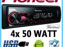 Autoradio Pioneer MVH-180UI USB/AUX/Ipod/Iphone
