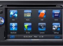 Radio Dvd Multimedia con GPS Doble Din BLAUPUNKT SAN DIEGO