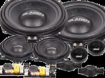 Kit altavoces GLADEN para vehículos BMW SERIE 1, 3 y serie 5, X1, X3, X4, X5, X6 ( E60-E61-E62-E90-