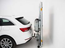 Remolque plegable TowCar trailer para bola enganche carga 180 KG,