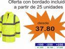 Parka Combi Alta Visibilidad: C3700