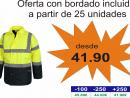 Parka Combinada Alta Visibilidad: C3710