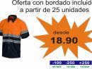 Camisa Combi Alta Visibilidad: C3811