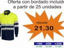 Camisa Combi Alta Visibilidad: C3813