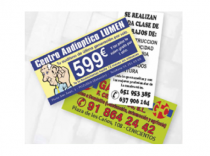 Flyers Folletos Tercio A4 150gr