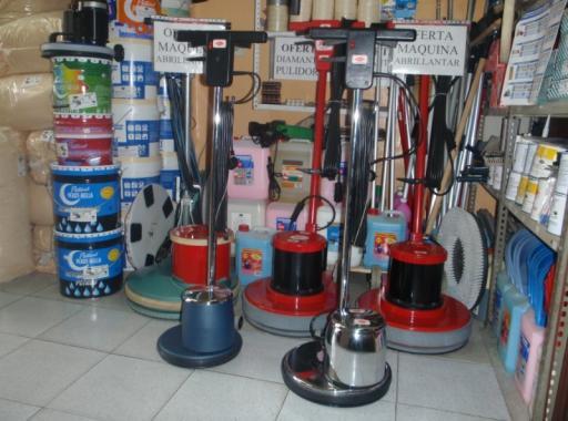 Acil productos y maquinaria - Maquina pulidora suelos ...