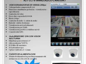 KIT CCTV  C90000KT. :  Calidad a un precio excepcional.