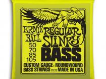 Cuerdas Ernie Ball Regular Slinky 50-105 para bajo