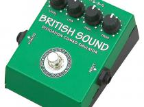 Pedal AMT BRITISH SOUND Distorsión.