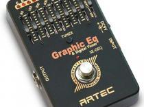 Pedal ARTEC SE-GEQ con afinador para guitarra