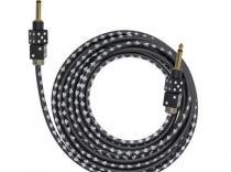 Cable Instrumento BULLET BC-12DB Dado Negro