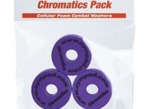 Espumas para platillos de batería Cympad Chromatics. Purpura