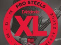Juego de cuerdas D´Addario EPS230 Pro Steels 55-110 para bajo