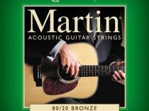 Cuerdas MARTIN M170 80/20 Bronze Extra Light 10-47 para Acústica