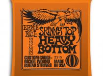 Cuerdas Ernie Ball Slinky Top Heavy Bottom 10-52 para eléctrica