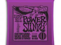 Cuerdas Ernie Ball Power Slinky Purpre 11-48 para eléctrica
