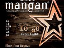 Cuerdas Curt Mangan Bronze 10-50 Extra Light para guitarra acústica.
