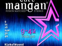 Cuerdas Curt Mangan Nickelwound 09-42 para guitarra eléctrica