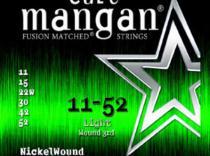 Cuerdas Curt Mangan Nickelwound 11-52 para guitarra eléctrica