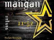 Cuerdas Curt Mangan 80/20 Bronze 11-52 Light para guitarra acústica