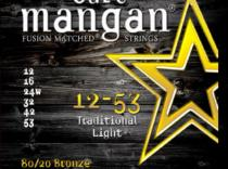 Cuerdas Curt Mangan 80/20 Bronze 12-53 Traditional Light para guitarra acústica