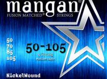 Cuerdas Curt Mangan Nickelwound 50-105 para bajo