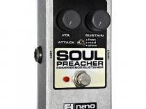 Pedal ELECTRO HARMONIX Nano Soul Preacher compresor/sustainer