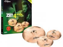 Set de platos ZILDJIAN ZBT 4 ROCK con funda de regalo.