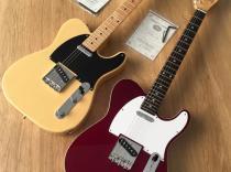 Guitarra eléctrica Tokai ATE 98B tipo telecaster