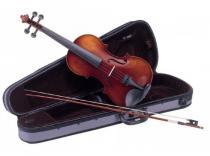 Violin CARLO GIORDANO VS1 con estuche y arco. Acabado envejecido. Nivel Medio.