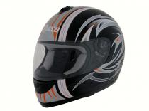 CASCO INTEGRAL CR 007A PLATA...