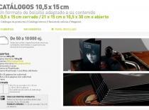 Catálogos 10.5 x 15 cm