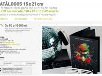 Catálogos 15 x 21 cm