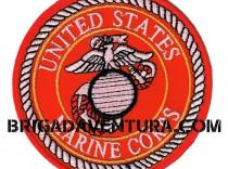 Parche United States Marine Corps Rojo