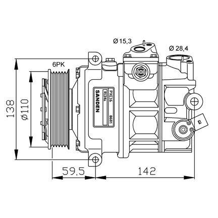 Compresor A1 A3 A4 A6 Q3 Tt Altea Ibiza Le
