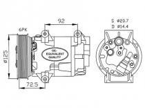 Compresor Renault Megane-Scenic-Grand Scenic-Nissan-Almera