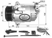 Compresor Aire Acondicionado Opel Astra H-GTC-Zafira B
