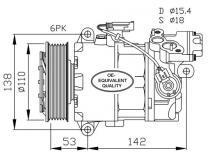 Compresor BMW 116i-118i-120i-316i-318i-320i