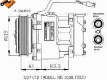 Compresor Citroen-Peugeot-Saxo-Xsara-Berlingo-106-206-306-Partner