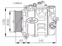 Compresor  Mercedes C-CL-CLK-CLS-E-G-ML-R-S-SPRINTER-VIANO-VITO