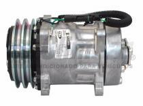 Compresor Sanden SD7H15-FLX7-24 voltios-Polea 2 canales