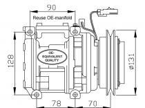 Compresor Kia Sportage