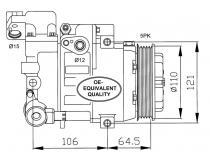 Compresor A140-A160-A170-A190-Vaneo