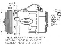 Compresor Volkswagen Transporter-LT28.35-LT28.46
